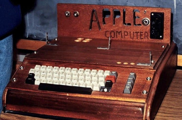 A Look Back At Apple Products Of Old